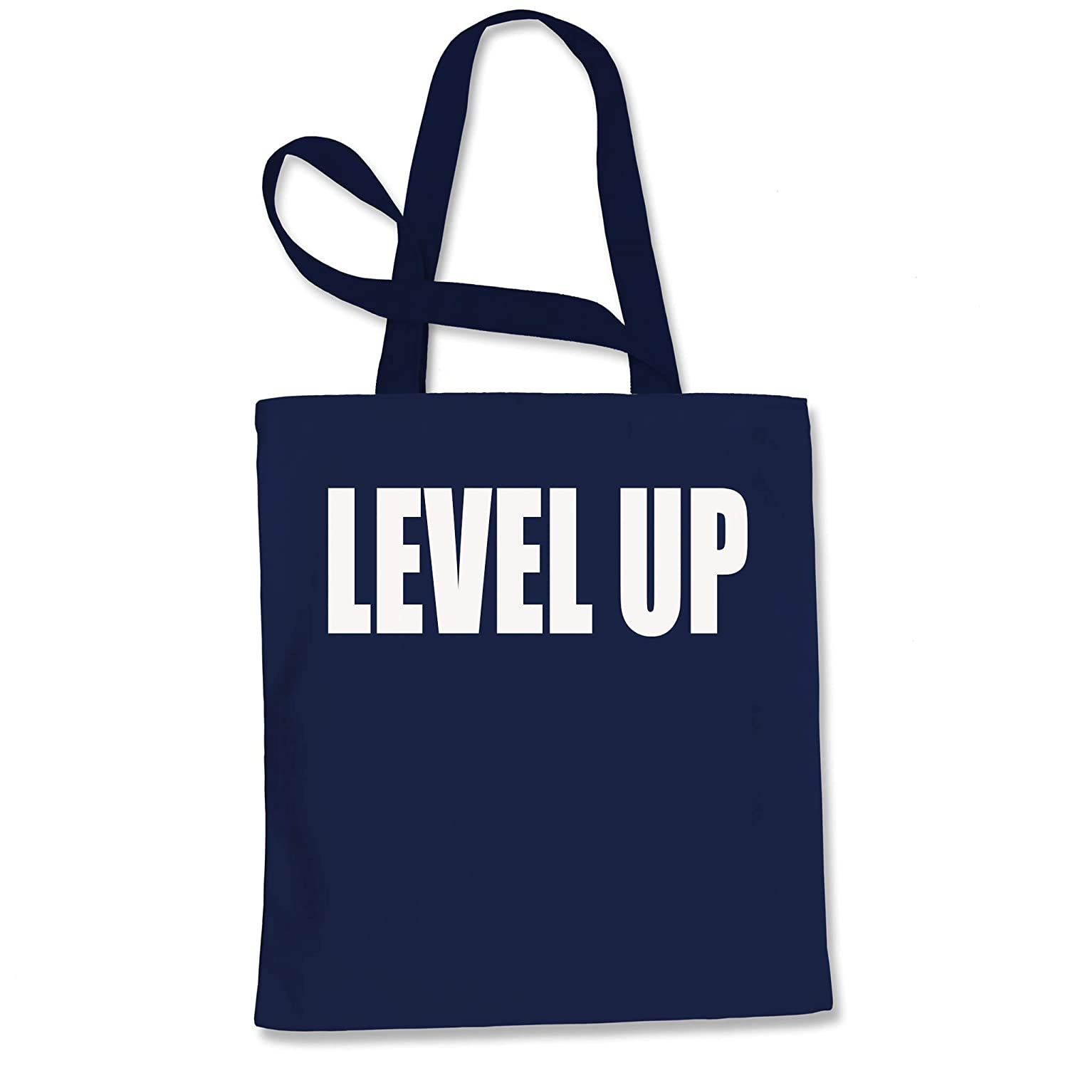 Expression Tees Level Up Shopping Tote Bag