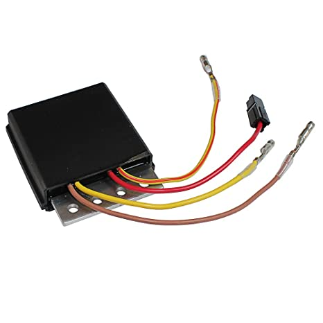 amazon com: caltric regulator rectifier fits polaris sportsman 700 early  2003 models with 4 wire regulator rectifier: automotive