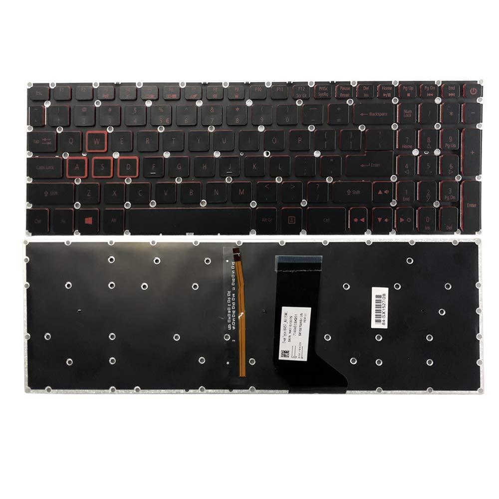 Teclado USA para Acer Nitro 5 AN515-51