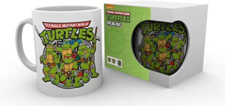 Amazon.com | GB eye LTD, Teenage Mutant Ninja Turtles, Retro ...