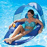 SwimWays Spring Float Recliner with Canopy (Sports)