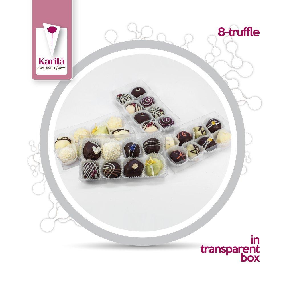 Karila 8 Trufas De Chocolate (selección mixta, 18): Amazon.es: Alimentación y bebidas