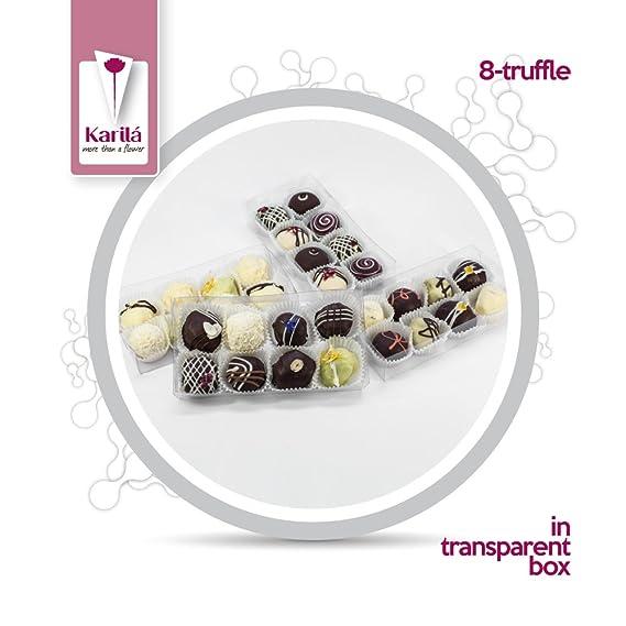 Karila 8 Trufas De Chocolate (- Trufas de avellana, pistacho y café, 5
