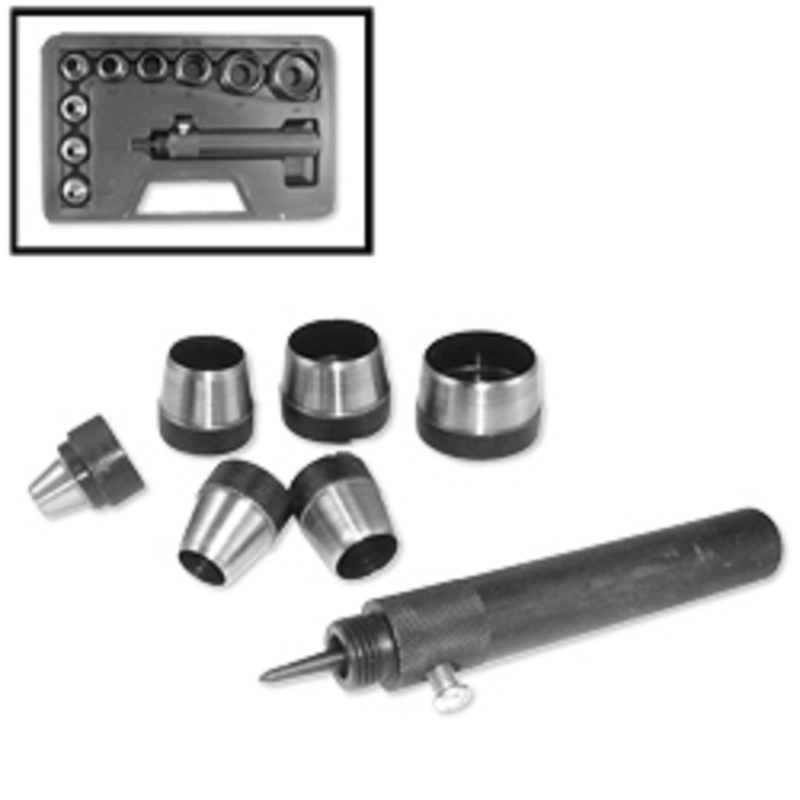 ESKALEX>>10pc Heavy Duty Hollow Punch Set And 10pc Heavy Duty Hollow Punch Set