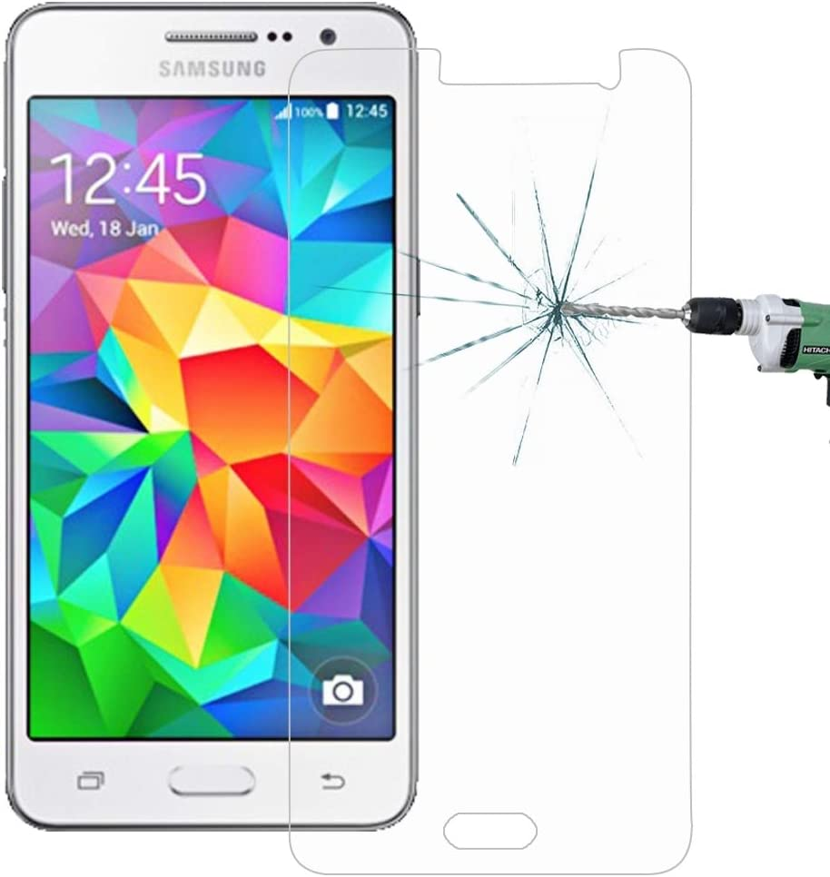 G530 0.26mm 9H Surface Hardness 2.5D Explosion-Proof Tempered Glass Screen Film Glass Film DESHENG Clear Screen Protector 100 PCS for Galaxy Grand Prime