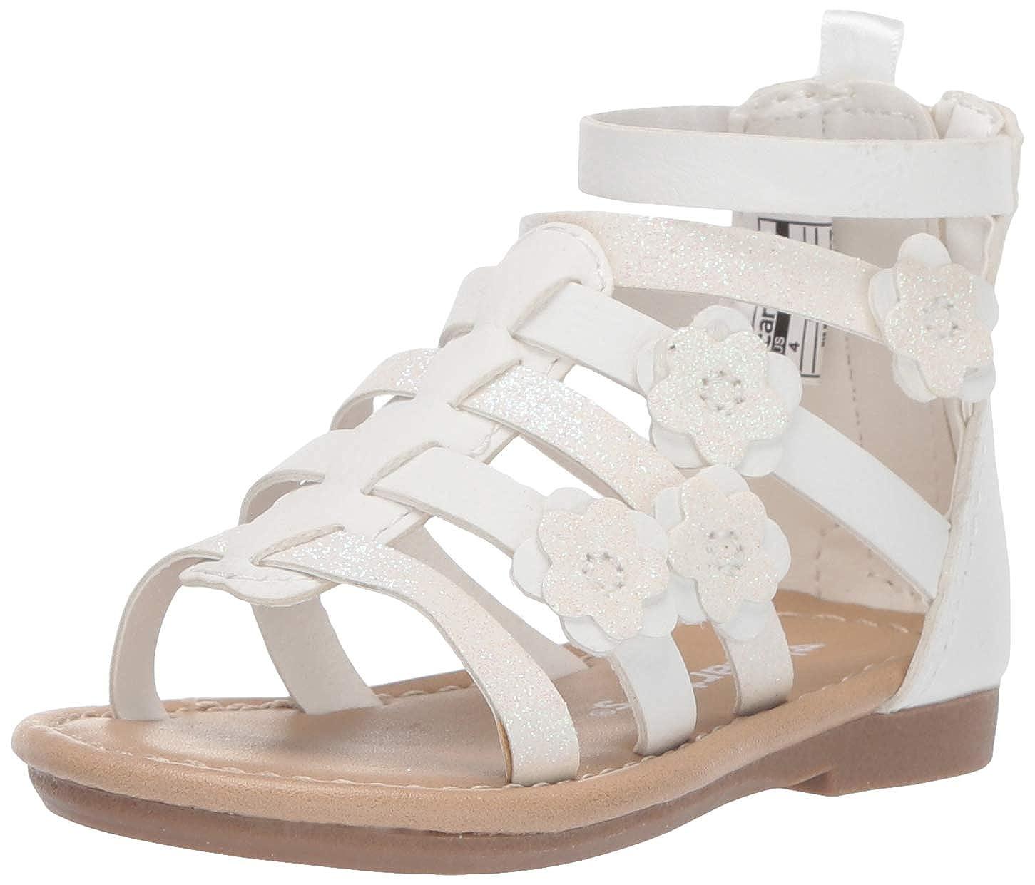 e7f9e2b6cbc74 Carter's Girl's Flossie Flower Gladiator Sandal