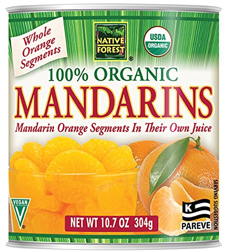 - Native Forest Organic Mandarin Oranges, 10.7 Ounce Cans (Pack of 6)