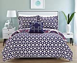 Chic Home Madrid 4 Piece Quilt Bedding Set with