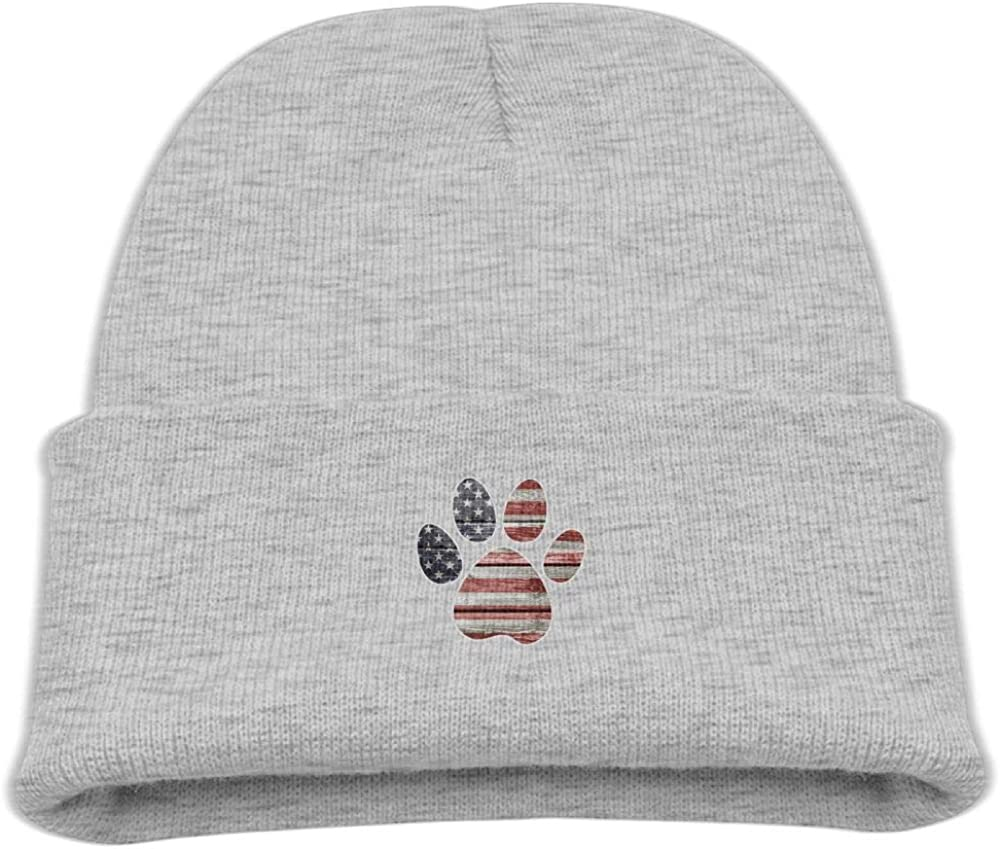Banana King American Flag Baby Beanie Hat Toddler Winter Warm Knit Cap for Kids
