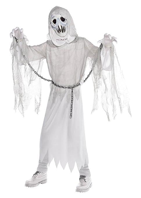 014c45095 Amazon.com: AMSCAN Creepy Spirit Ghost Halloween Costume for Boys ...