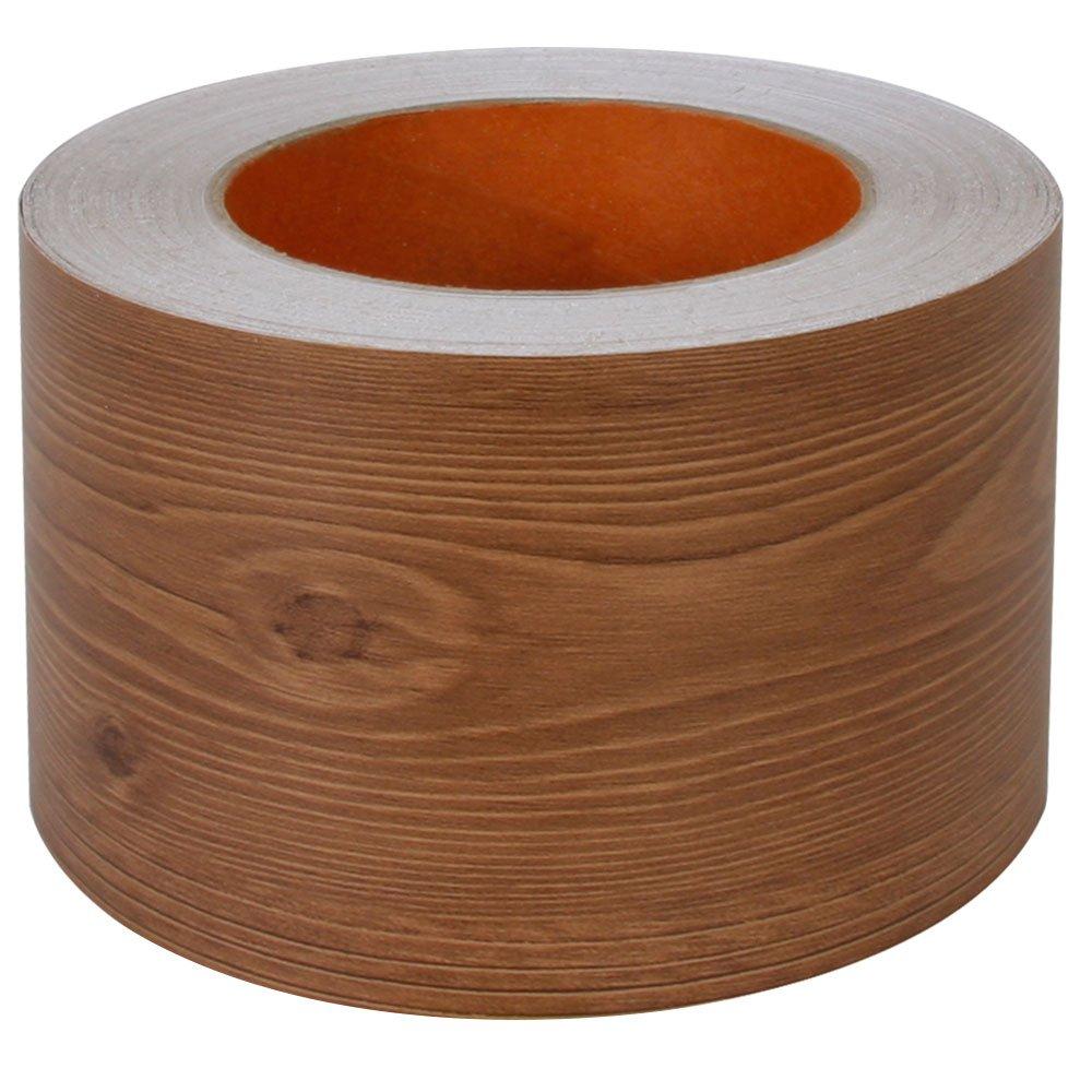 マスキングテープ 幅広 【幅8cm×30m単位】 木目調 カッティングシート 壁紙 インテリア 壁紙用 シール ウッド パネリング 羽目板 [ブラウン] はがせる リメイクシート アクセントクロス ウォールステッカー DIY 壁紙 シール クロス かわいい B06X14TXZJブラウン 30m単位