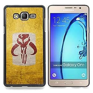 """Qstar Arte & diseño plástico duro Fundas Cover Cubre Hard Case Cover para Samsung Galaxy On7 O7 (Dracónido sesión"""")"""