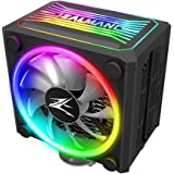 Zalman CNPS 16x, Real RGB LED CPU Cooler with 4D Patented Corrugated Fin Design, 120mm, for Intel & AMD (Black)