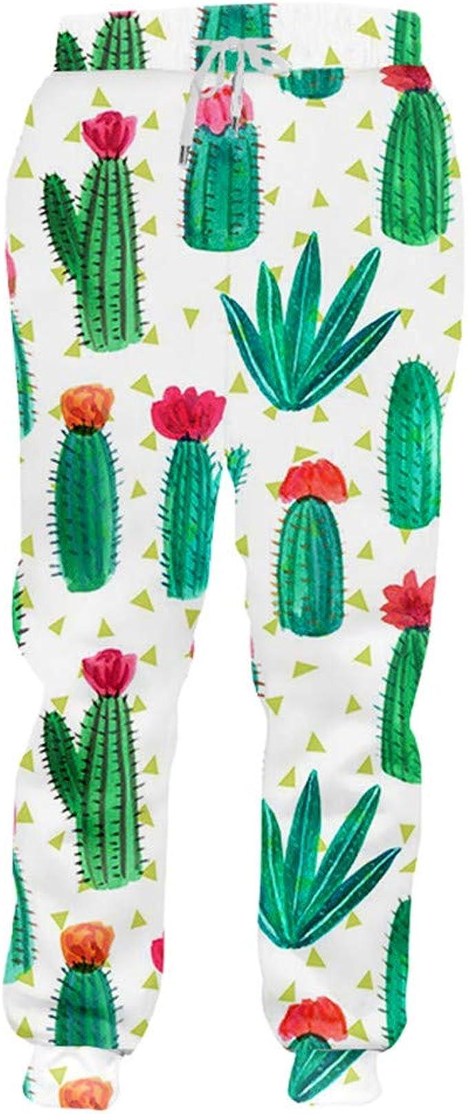 LUMBIRK - Pantalones de chándal para Hombre Gyms 3D Harem ...