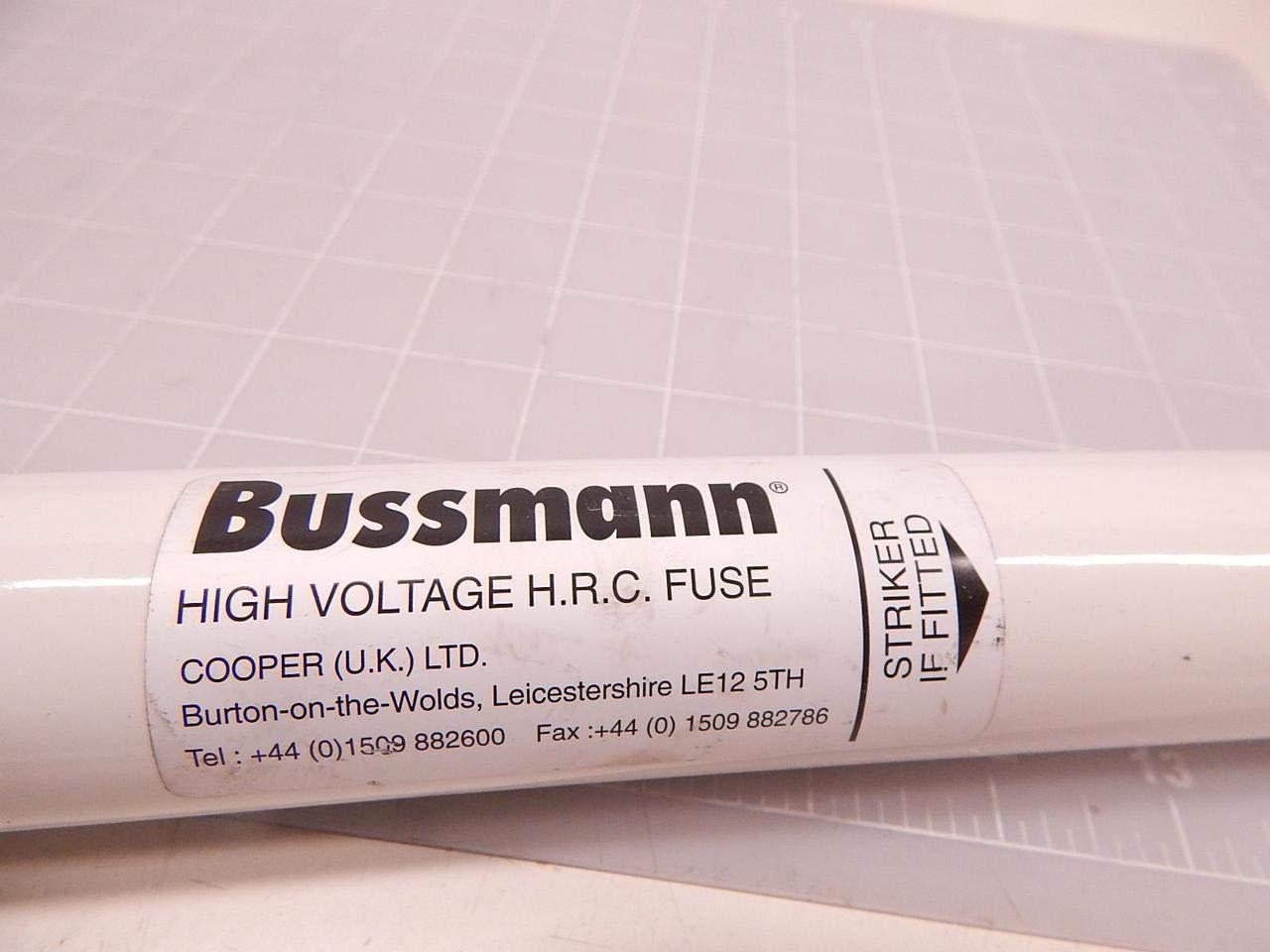 Bussmann Cooper 15-5CAVH0-5E High Voltage H.R.C Fuse 80000 Amp