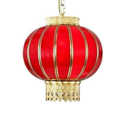 MWG Lámparas de araña Chino Linterna Roja Araña Inicio ...