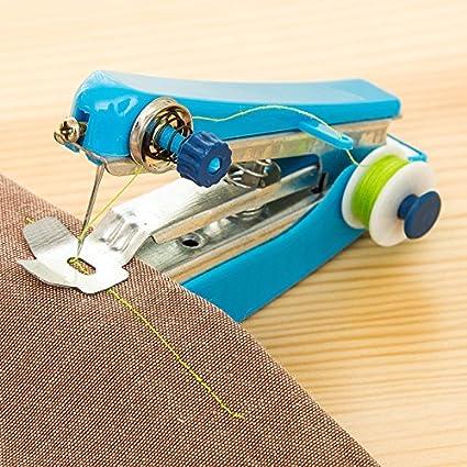 Hot Manual Sewing Machine Portable Mini Handheld Sewing Machine Household Multifunctional Pocket Mini Sewing Machine New AB082