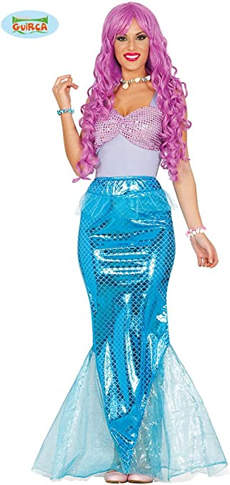 Guirca 84584 - Sirena Adulta Talla L 42-44: Amazon.es: Juguetes y ...