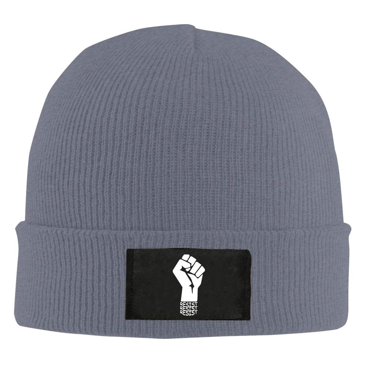 BF5Y6z/&MA Mens and Womens Resist 1-2 Knitted Cap 100/% Acrylic Wool Beanies Cap