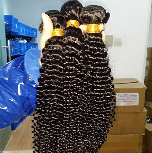 Good Beautiful DaJun Hair 6A Malaysian Virgin Human Hair wefts Jerry Curly 1pcs/lot 100gram Natural Colour (trademark: DaJun)