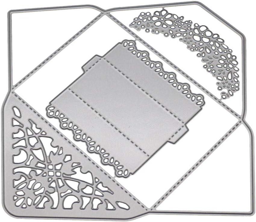 Plantillas de estampación de metal TianranRT para álbum de recortes, tarjetas de papel, decoración