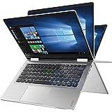 """Built Lenovo Yoga 710 High Performance 14"""" Full HD 1920x1080 2-in-1 Touchscreen Laptop PC Intel I5-7200U Processor 8GB DDR4 RAM 256GB SSD 802.11AC Wifi HDMI Bluetooth Webcam-Silver"""
