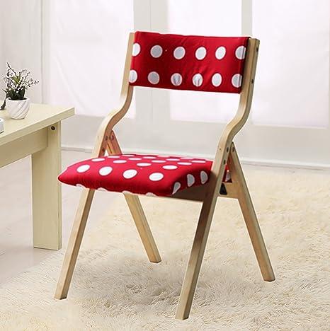 Chair QL sillones Plegables Silla de Comedor de Tela Moderna ...