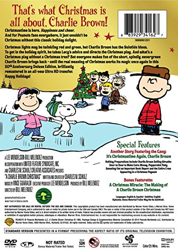 amazoncom charlie brown christmas 50th anniversary a deluxe edition various movies tv - Charlie Brown Christmas Torrent