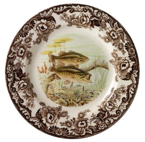 Spode Woodland Bass Dinner Plate