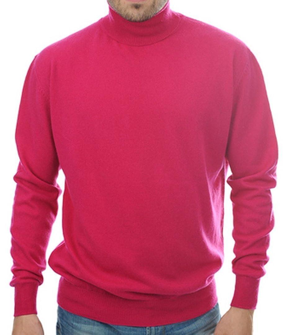 Balldiri 100/% Cashmere Rollkragen Pullover 10-fädig dunkelblau M