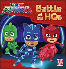 Battle of the HQs: A PJ Masks story book: Amazon.es: Pat-a-Cake, PJ Masks: Libros en idiomas extranjeros