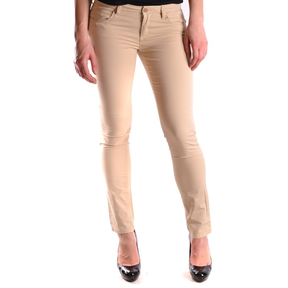 the best attitude 8c084 1f3bf Peuterey Jeans Beige at Amazon Women's Jeans store