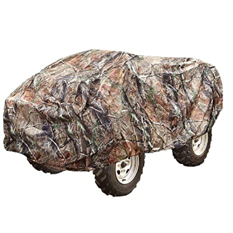 New Beach Car Cover Xxl 220*98*106cm Atv Car Cover Atv Rain Cover Atv Sun Cover Camouflage Silver Atv Parts & Accessories
