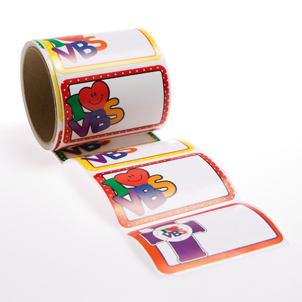 I love VBS Name Tags 100 Pack Fun Express Inc.