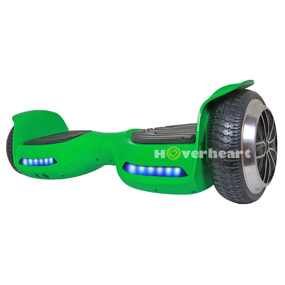 Hoverboard 6.5'' UL 2272 Listed Two-Wheel Self Balancing Electric Scooter with Bluetooth Speaker (Green) by OTTO