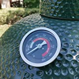 """DOLAMOTY Upgrade Replacement Thermometer for Big Green Egg Grill with 3.3"""" Large Dial,Temperature Gauge for Big Green Egg Acc"""