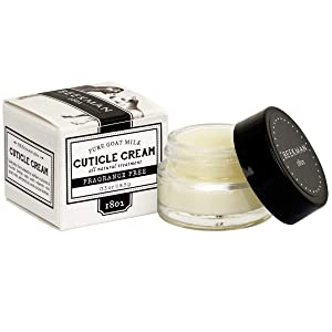 Beekman 1802 - Cuticle Cream - Pure Goat Milk - Fragrance-Free Hydrating Cream for Dry, Cracked Cuticles - Cruelty-Free Bodycare (0.3 oz)