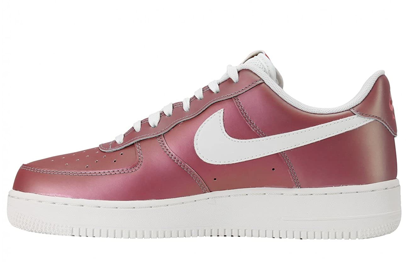 Nike Air Force 1  07 LV8 Track Red Summit White-Black (10. 5 D(M) US)  Buy  Online at Low Prices in India - Amazon.in 58d537dbb