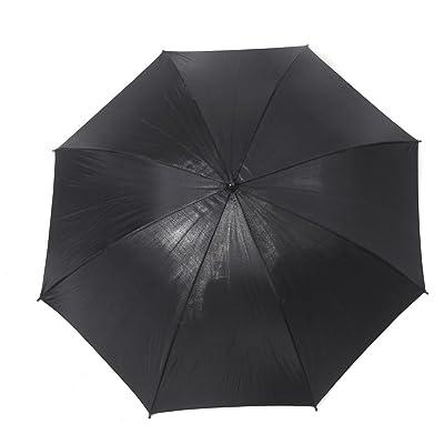 TOOGOO(R)83cm 33in parasol de la foto del estudio del flash del estroboscopico Luz Reflector Negro