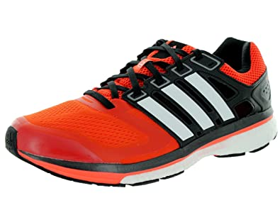 adidas Supernova Glide 6 Boost Running Sneaker Shoe - Borang/Cwhite/SOLRED  - Mens