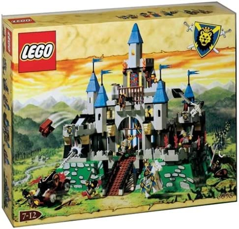 LEGO Knights Kingdom Set #6098 King Leo's Castle