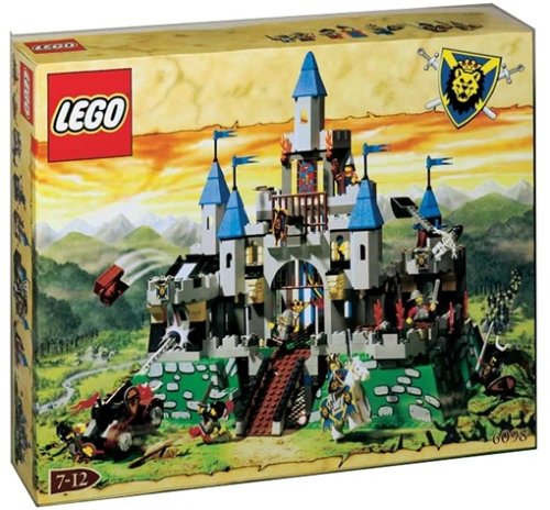 with LEGO Castle design