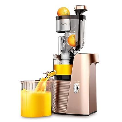 Ozigwpa3 Juicer- Exprimidor Comercial casero automático de Frutas y Verduras Multifuncional separación de escoria Pulpa