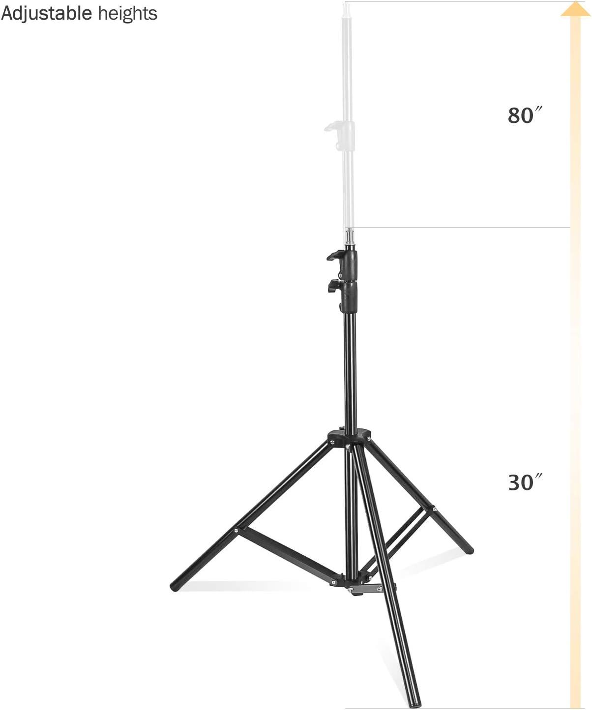 Backgrounds,JSAG498 Softboxes Julius Studio,86//7 Feet//218CM Photography Light Stands for Reflectors Umbrellas Lights