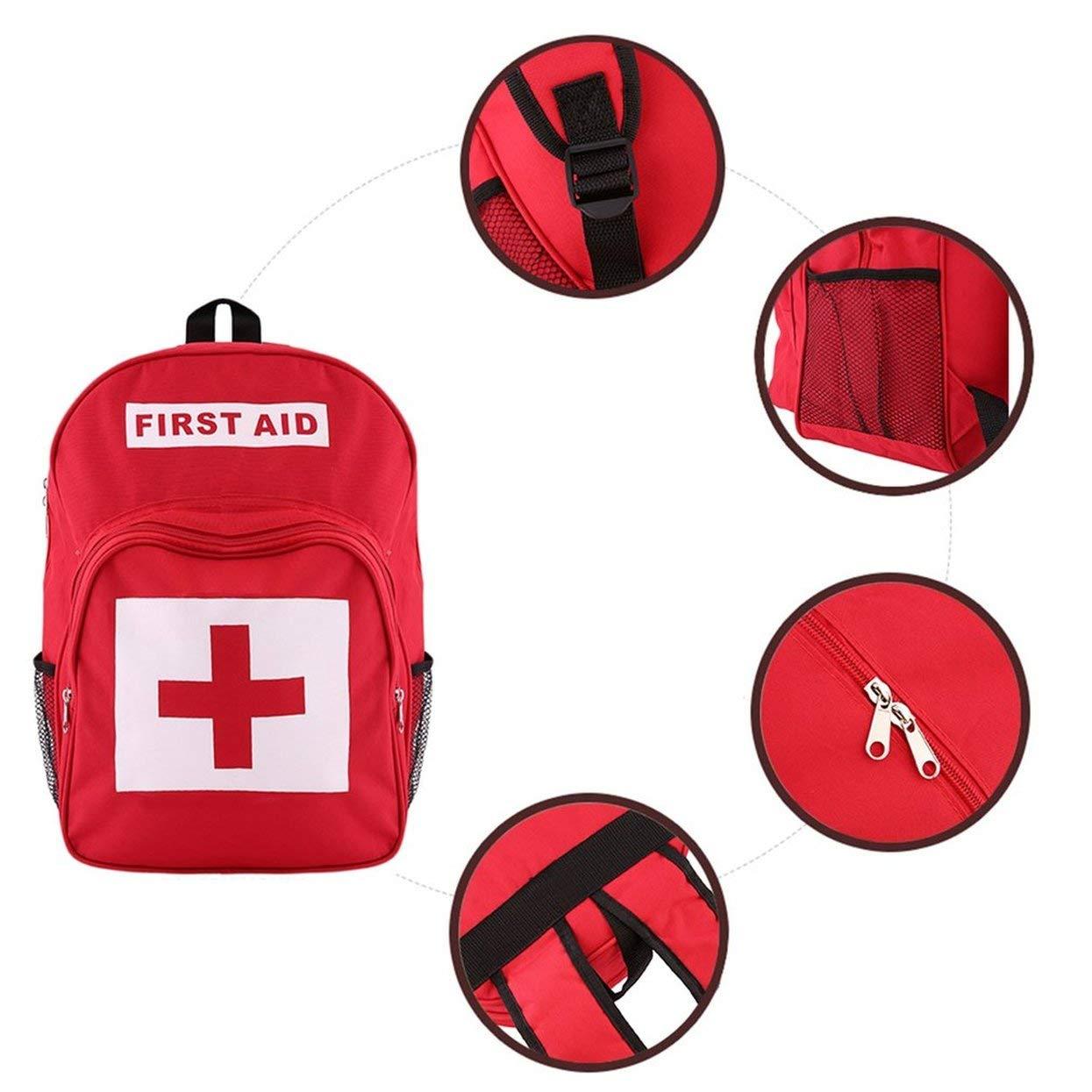 Tellabouu for Equipo de Primeros Auxilios de de de Supervivencia de Emergencia médica para Acampar en el hogar al Aire Libre BagBest Selling and Newest Alrededor del Mundo en bab8c3
