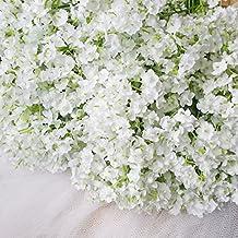 Bringsine Baby Breath/Gypsophila Wedding Decoration White Colour Silk Artificial Flowers 30 pieces/lot
