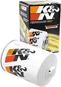 K&N Premium Oil Filter: Designed to Protect your Engine: Fits Select 2015-2018 NISSAN (Titan XD), HP-3005