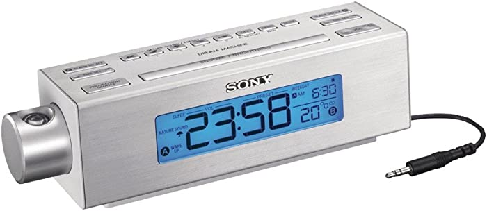 Sony ICFC717PJ Nature Sounds Clock Radio