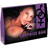 International Surprise Bag - 9-teiliges Überraschungs-Set für sie und ihn, Wundertüte mit erotischen Produkten, unterschiedliches Sexspielzeug für Anfänger und Fortgeschrittene