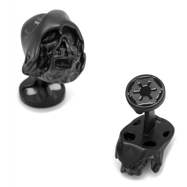 3D Melted Darth Vader Helmet Cufflinks by Star Wars Cufflinks